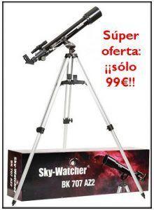 Súper oferta: Skywatcher 70 700 AZ2, ¡¡a sólo 99€!!