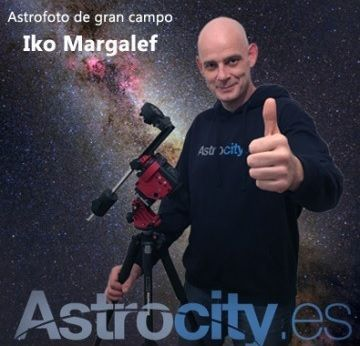 Curso astrofoto de gran campo con Star Adventurer de Astrocity