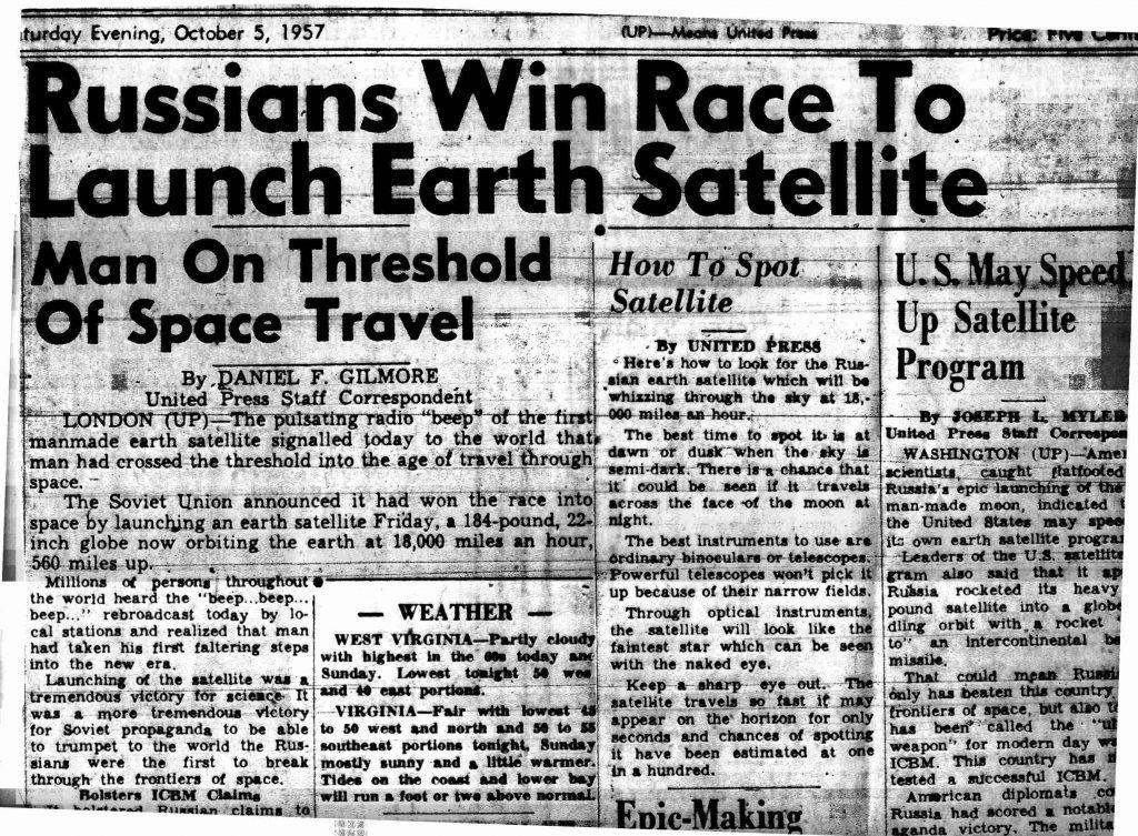 60 años del lanzamiento del Sputnik 1
