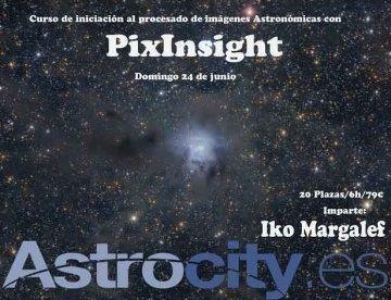 Curso de PixInsight en Madrid el 24 de junio de 2018