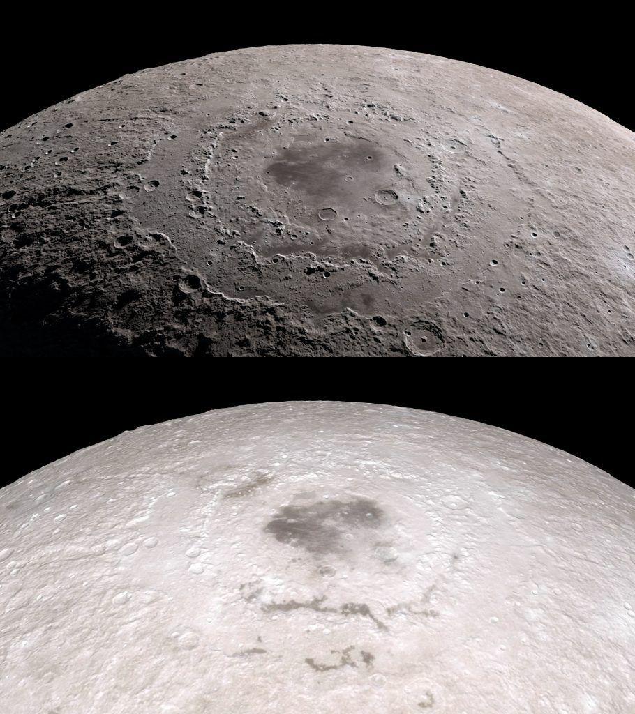 Tour de la luna en 4K gracias a LRO