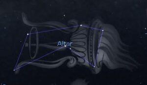 Constelaciones: Ara (El Altar)