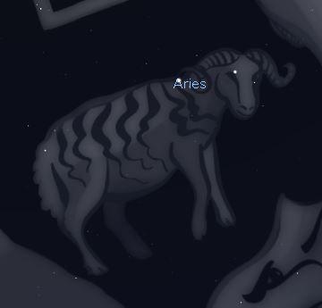 Constelaciones: Aries