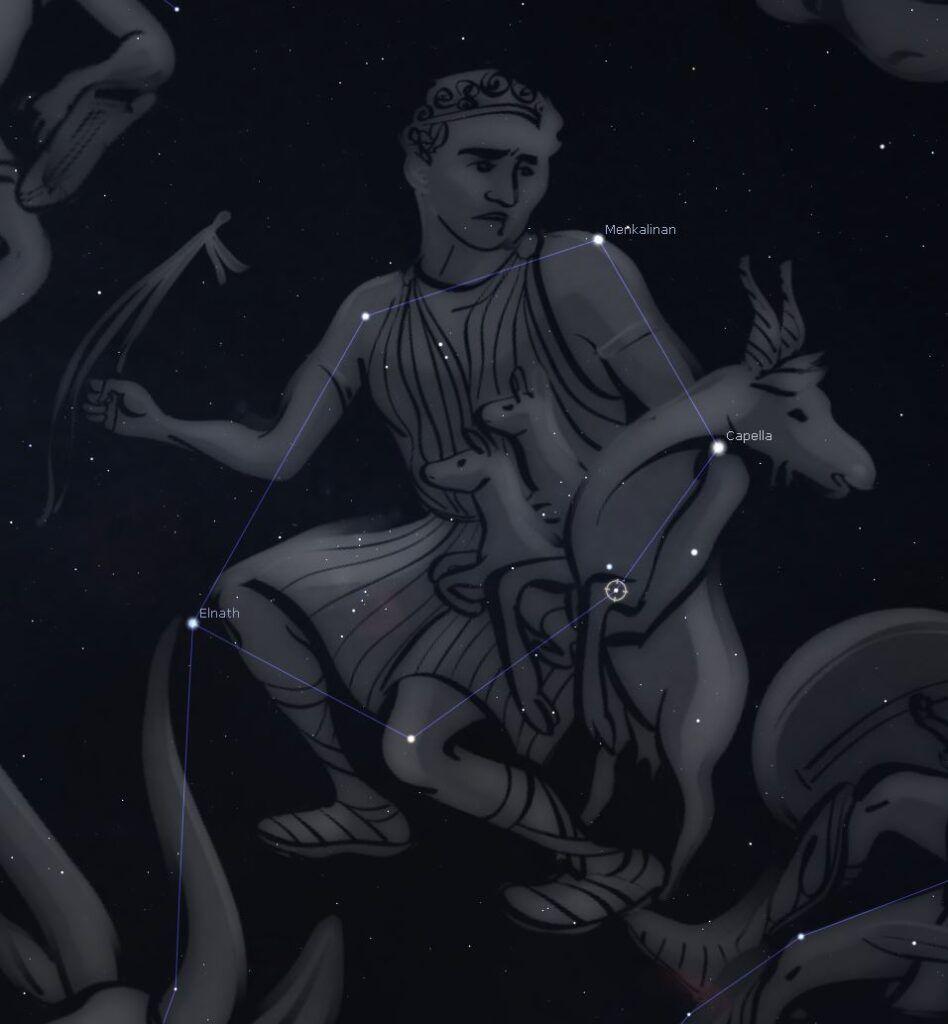 Constelaciones: Auriga (El Cochero)
