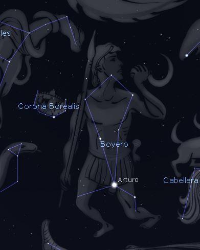 Constelaciones: Bootes (El Boyero)